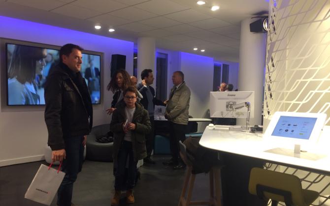 air france choisit nantes pour inaugurer son nouveau concept de magasin le journal des. Black Bedroom Furniture Sets. Home Design Ideas