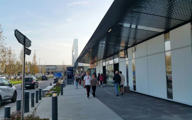 Immochan fait l 39 acquisition du centre commercial promenade - Nouveau centre commercial roncq ...