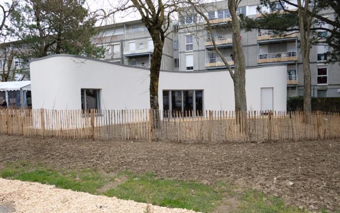 La Première Maison Du0027habitat Social Construite En Imprimante 3D Se Situe  Rue De La Bottière, à Nantes. U2014 Photo : Nantes Métropole