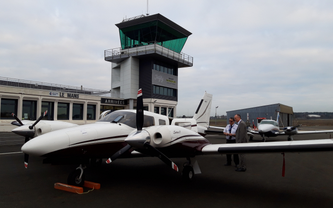 Air Affaires propose ses services sur l'aéroport Le Mans - Arnage.