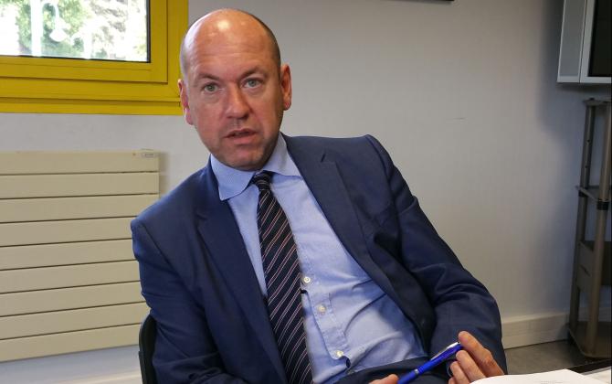 David Iroz est le directeur général de LME Beltrame Group depuis 2015.