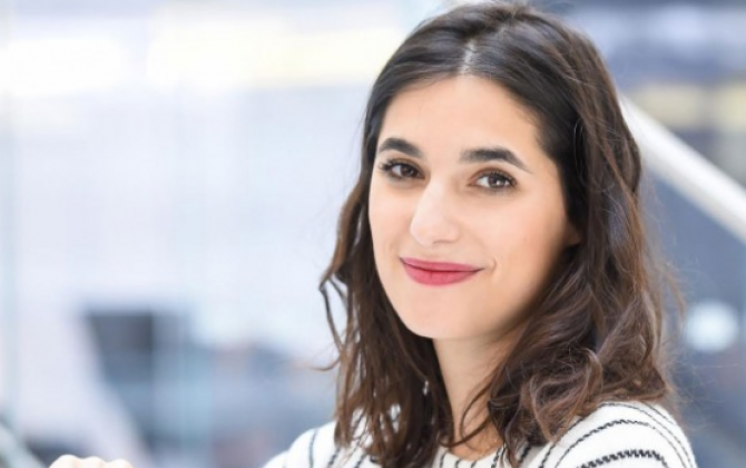 Charlotte Journo-Baur, fondatrice et gérante de la start-up parisienne Wishibam