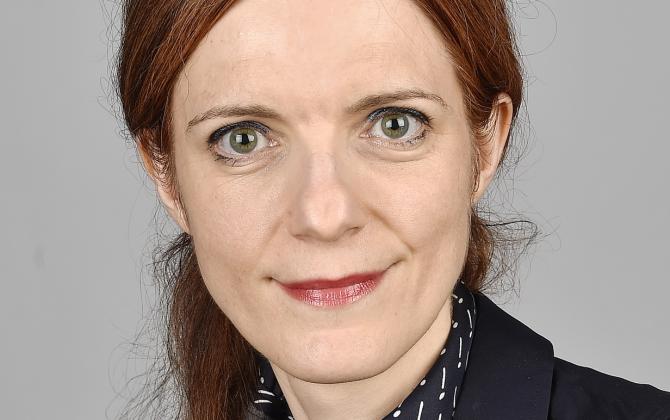 """Pour Solenne Lepage, directrice générale adjointe de la Fédération Bancaire Française, """"l'endettement des entreprises n'est pas un sujet de préoccupation aujourd'hui""""."""