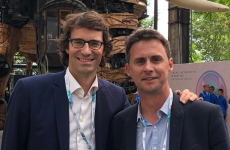 Thibaut Gemignani, PDG de Figaro Classifieds, et Vincent Monfort, directeur de la communication
