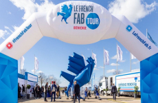 Le village du French Fab tour en tournée en France