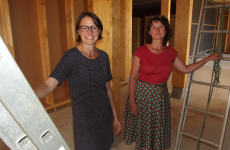 Marie-Laurence Le Ray, directrice adjointe, et Claire Devins, directrice des ressources humaines d'Ecodis.