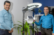 Naoufal Amar et David Chquiry, deux des cofondateurs de la start-up messine Green Tech Innovations