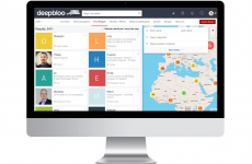 Plateforme de la start-up montpelliéraine Deepbloo