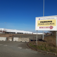 L'ancien site Carrefour Logidis du Mans totalise 70 000 m² couverts.